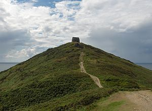 Rame Head - Rame Head from the land