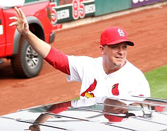 Randy Choate - Randy Choate at Opening Day for the St. Louis Cardinals, 2013