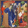 Raoul de Presles presents his translation to Charles V of France.jpg