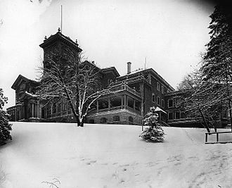H. Montagu Allan - Ravenscrag, the Allans' home in Montreal, 1903