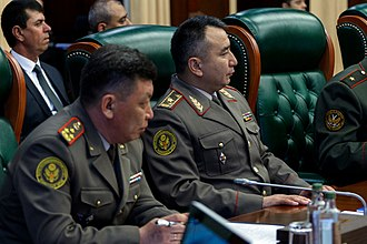 General Staff of Armed Forces of the Kyrgyz Republic - Rayimberdi Duishenbiev, the current Chief of the General Staff.