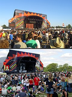 Reading and Leeds Festivals pair of annual music festivals in England