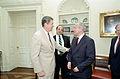 Reagan's meeting with Oleg Gordievsky in the Oval Office (06).jpg