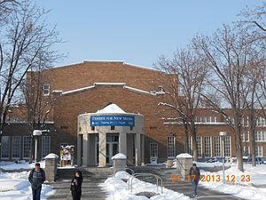 South High School (Salt Lake City) - Rear entrance to South High School