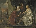 Rebecca Receiving Presents from Abraham's Servant by Hendrick Heerschop Rijksmuseum Amsterdam SK-A-1431.jpg