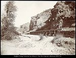 Red Narrows, Spanish Fork Canon Utah D.& R.G.Ry. C.R. Savage, Photo..jpg