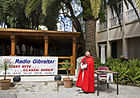 Red cloak reproduction at the Gibraltar Museum courtyard.jpg