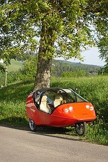 Twike human-electric hybrid velomobile