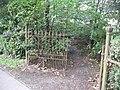 Redundant gates, New Park - geograph.org.uk - 990222.jpg