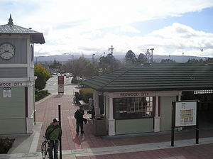 Redwood City station - Redwood City Station