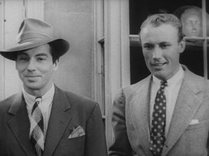 Carleton Young - Carleton Young (left) and Dave O'Brien (right) in Reefer Madness (1936)