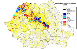 organization of the Calvinist church in Romania
