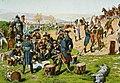 Regamey, Frédéric - Custine en Alsace, 1793, Conseil de guerre dans les lignes de Wissembourg.jpg