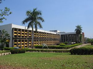 English: Rectorate of the Federal University o...