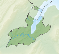 Jussy is located in Canton of Geneva