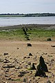 Remains of old jetty, River Stour - geograph.org.uk - 840711.jpg