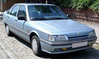 Renault 21 - Image: Renault 21 front 20080612