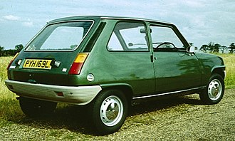 Renault 5 - First generation, three door