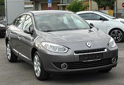 Renault Fluence front 20100918