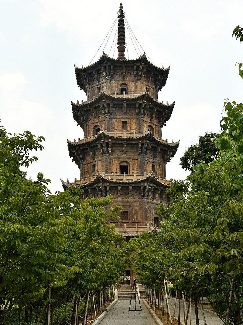 泉州開元寺西塔「仁壽塔」。圖片來自Wiki