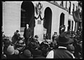 Rep. Henry R. Rathbone, of Ill., addressing the gathering at the unveiling of a tablet marking the old Ford Theatre where Lincoln was shot. The tablet was unveiled by Miss Mand Burr Morris LCCN2016887237.jpg