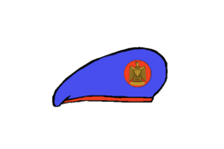 Republicanguard brigadier Beret - Egyptian Army.png