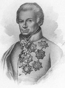Prince Heinrich XV. Reuss zu Greiz Passport 1814