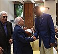 Reuven Rivlin meeting with a delegation of leading personalities from the NBA, August 2017 (6620).jpg