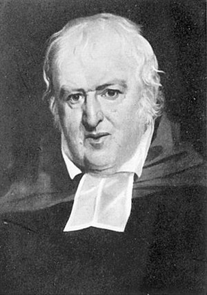 John Andrews (clergyman) - Rev. John Andrews, circa 1810