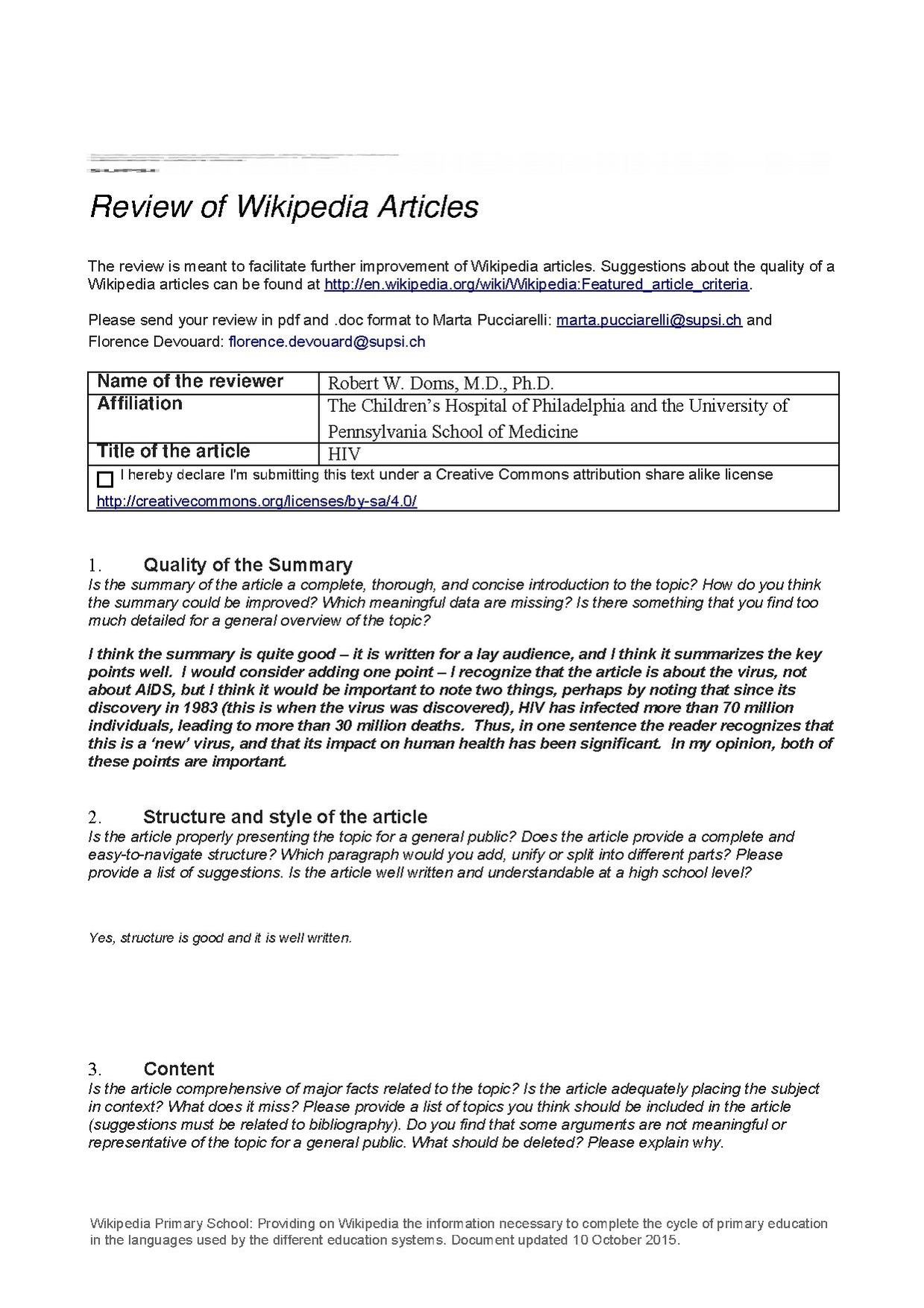 article review format pdf