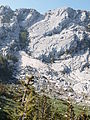 Revoacka greda snow activity Bijel gora Orjen range.JPG