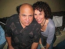 Danny DeVito con la moglie Rhea Perlman nel 2006