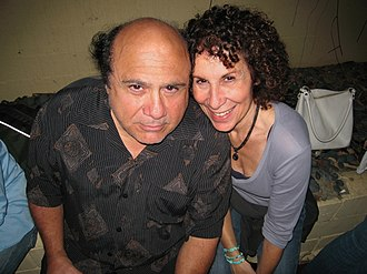 Rhea Perlman - Perlman with husband Danny DeVito
