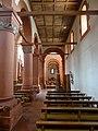 Rheinmünster, Klosterkirche Schwarzach, südliches Seitenschiff, Blick nach Osten 3.jpg