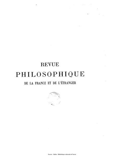 File:Ribot - Revue philosophique de la France et de l'étranger, tome 53.djvu