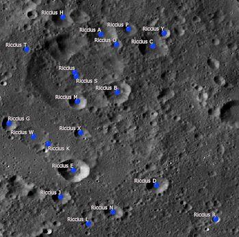Riccius Crater Wikipedia