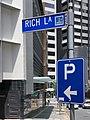 Rich Lane sign, Brisbane, Queensland, 2020.jpg
