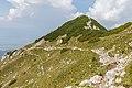 Ridge trail to Veliki Vrh, Karawanks, Slovenia 15.jpg