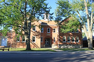 Britton, Michigan - Image: Ridgeway Township Britton High School