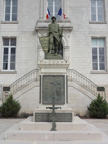 Rigny-la-Salle (Meuse) monument aux morts