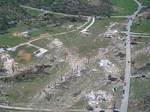 EF4-rated tornado damage in Ringgold, Georgia ...