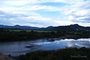Taquari River - The river in Encantado, Rio Grande do Sul