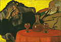 Rippl-Rónai, József - My Father and Piacsek, with Red Wine - Google Art Project.jpg