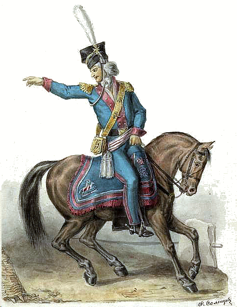Rittmeister of the Polish National Cavalry in 1792