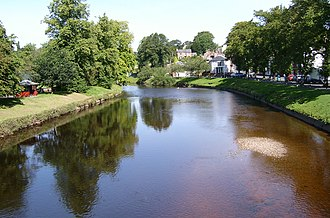 River Eden, Cumbria - The Eden at Appleby in Westmorland