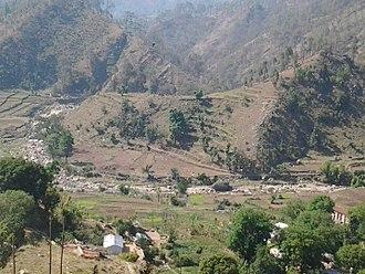 Gomati river - Farms in Raulyana Village on the Banks of Gomati