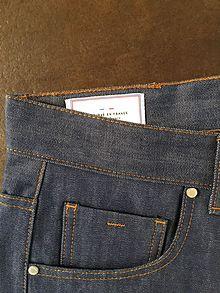 15929468aca Rivets sur Jeans en toile selvedge 13oz.