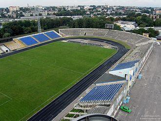 Avanhard Stadium (Rivne) - Image: Rivne Avanhard Stadium 1