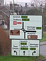 Road sign - geograph.org.uk - 656209.jpg