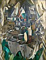 Robert Delaunay, 1910, La ville no. 2, oil on canvas, 146 x 114 cm, Musée National d'Art Moderne, Centre Georges Pompidou, Paris.jpg